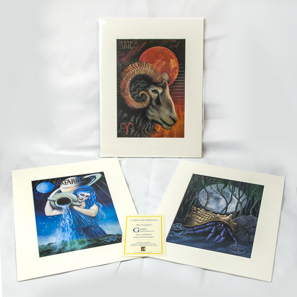 Star Planners Astrology Zodiac Signed Prints