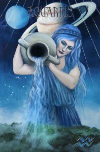 Symbolised by the Water Carrier, influenced by the Element of Air and ruled by the Planets Uranus and Saturn. © Star Planners Astrology 2016.