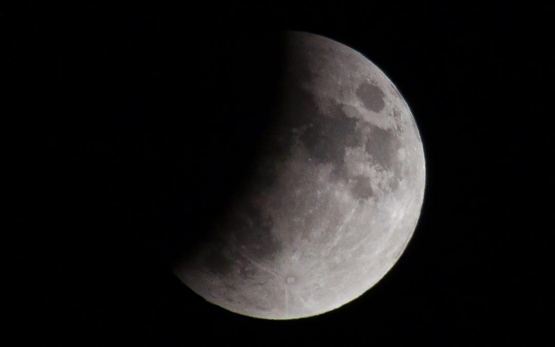Eclipsed Full Thunder Moon in Capricorn